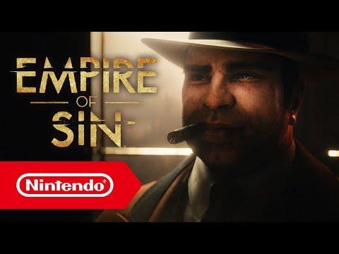 Trailer d'annonce de Empire of Sin
