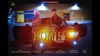Homies | (Full HD) | Jashan Sarao & Mandeep Ubhi | Latest Punjabi Songs 2020 | Jass Records