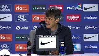 Rueda de prensa Atlético de Madrid vs SD Huesca