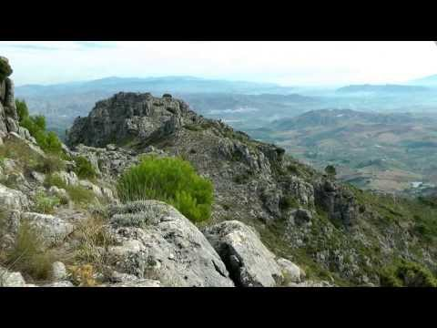 Pico Sierra Prieta por la Cara Norte (Casarabonela, Málaga) wmv