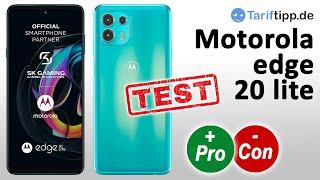 Motorola edge 20 lite | Test (deutsch)