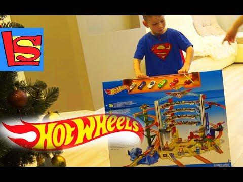 Набор парковка Hot wheels Лев заболел на день рождения ТОРТ и подарки подняли настроение Vlog