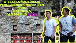 preview picture of video 'VLOG PART 02 paling seram di objek wisata LONDA TORAJA UTARA#EXPLORE SULSES#MY TRIP MY ADVENTURE#'