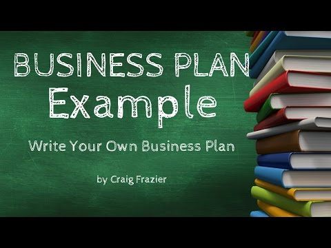 Video Business Plan Examples & Templates | How To Write A Business Plan