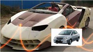 Honda City Modified to Lamborgini : The Lamborgini Project India 2017