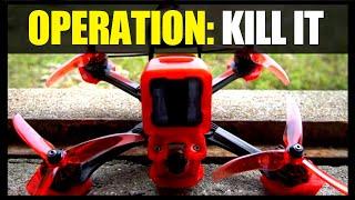 FPV FREESTYLE AD ALTA VELOCITA' NEL BANDO CON IL MIO NUOVO DRONE FPV!!!   EMUFLIGHT ON BOARD