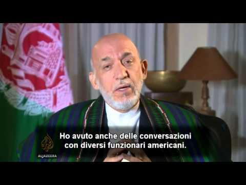 """Hamid Karzai: """"Al-Qaeda è un'invenzione"""""""