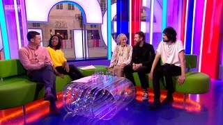 Kasabian - Interview at The One Show (BBC One 10/05/17)
