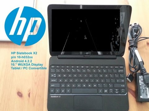 HP Slatebook x2 Android 4.2.2 Tablet / laptop review
