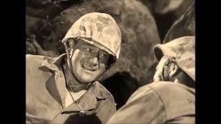 Sands of Iwo Jima (1949) John Wayne scene (3)  720p