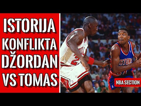 Michael Jordan vs Isiah Thomas – Beef