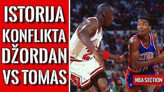 Michael Jordan vs Isiah Thomas – Beef