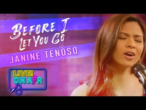 janine te  oso     before i let you go freestyle cover live