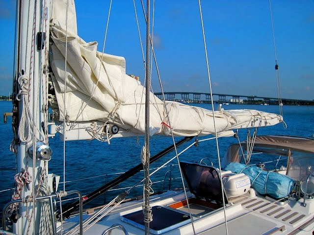 Sailing Basics - How to Reef Your Mainsail the Right Way