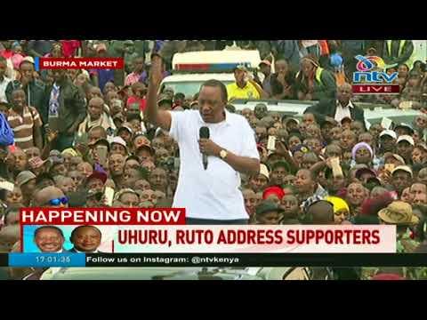 Uhuru Kenyatta: Mimi sio rais mtarajiwa, mimi ni rais ambaye amekalia kiti. #Decision2017