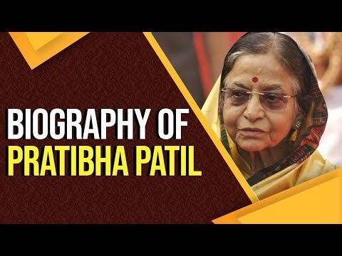Biography of Pratibha Patil, 12th President of India & the only woman to hold the office