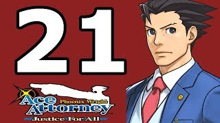 Phoenix Wright Ace Attorney: Justice for All Walkthrough Part 21 - No Commentary Playthrough (3DS)