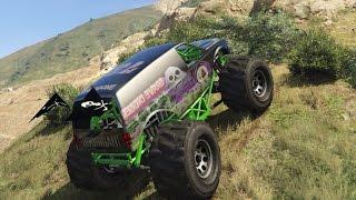GTA 5 PC Mods Grave Digger Monster Truck Offroad