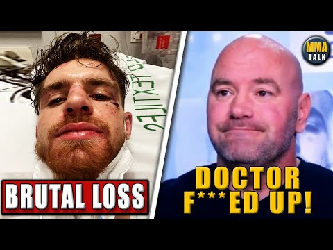 Edmen Shahbazyan REACTS after 1st career loss to Brunson, Dana White slams inexperienced doctor, TJ