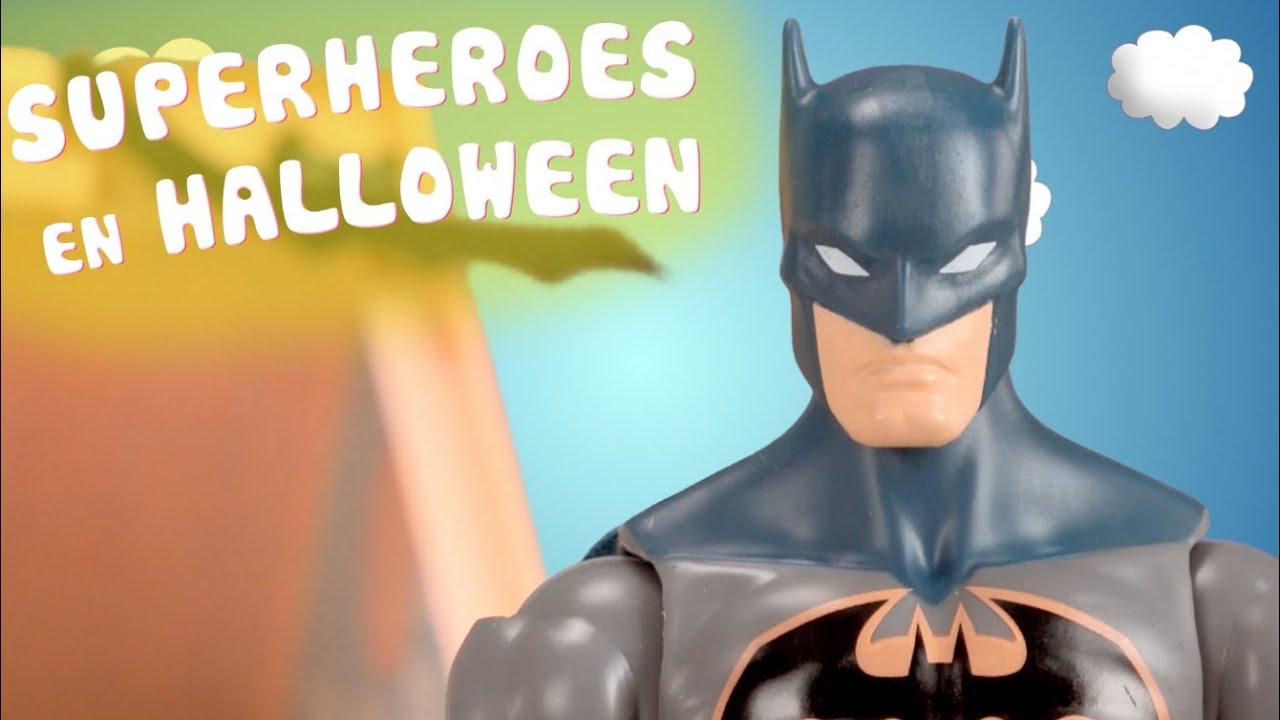 Halloween | Batman, Spiderman y Capitán América se disfrazan
