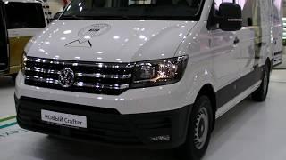 VW привез в Россию новый Crafter. Российская премьера на выставке КомТранс