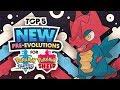 Top 5 NEW Pre-Evolutions For Pokemon Sword And Pokemon Shield
