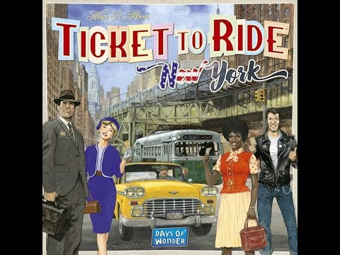 Bower's Game Corner: Ticket To Ride: New York Review