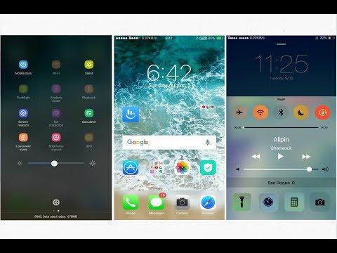OPPO (ColorOS) theme iOS 11 Clean | Realme 1&2&Pro A37 A57