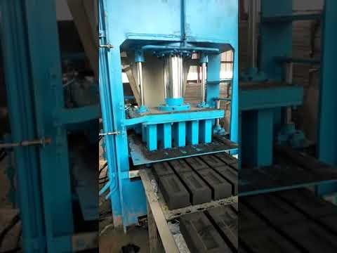 Fly Ash Paver Block Making Machine
