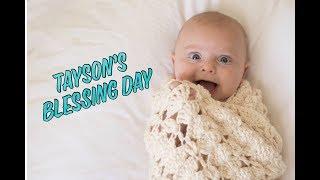 Mormon / LDS Baby blessing vlog