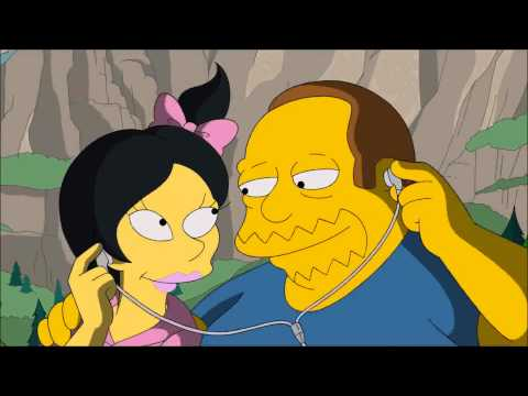 Comic Book Guy gets a girlfriend.