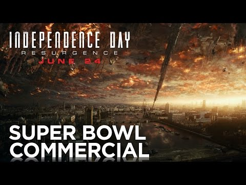 Commercial for Super Bowl 50 2016, and Independence Day: Resurgence (2016) (Television Commercial)