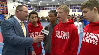 St. Bernard ECC semifinal post-game interview