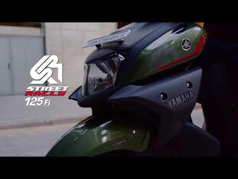 Yamaha Ray ZR Street Rally Scooter