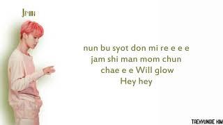 BTS(방탄소년단) , charli XCX - Dream Glow (BTS WORLD OST Part 1) Easy Lyrics