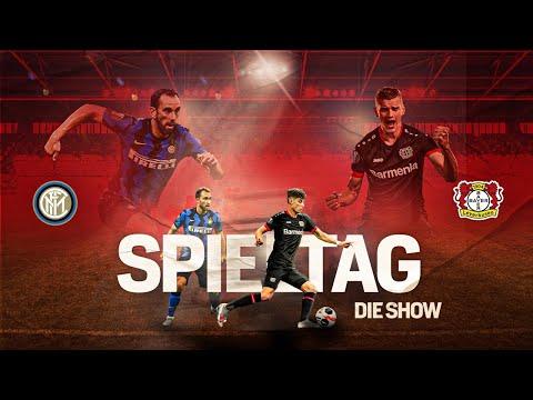 """""""SPIELTAG – DIE SHOW""""   Inter Mailand 🆚 Bayer 04 Leverkusen   UEFA Europa League"""