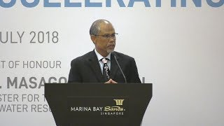 Welcome address by Minister Masagos Zulkifli at the Partners for the Environment Forum