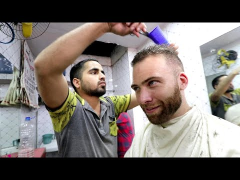 The ULTIMATE Indian HAIRCUT EXPERIENCE - Full Shave + Massage | Kolkata, India