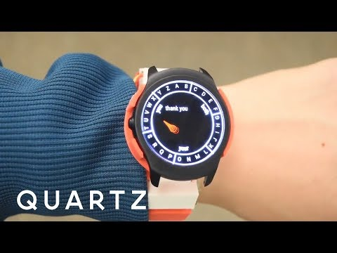 Use Wrist Movements to Type on Your Smartwatch