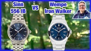 Welche Uhr ist besser? Sinn 556 IB oder Wempe Iron Walker