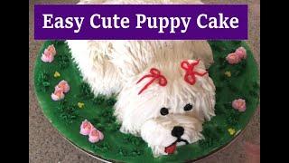 Easy Dog Cake
