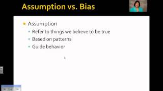Facts, Opinions, Assumptions, Biases