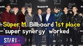 Super M, Billboard 1st place 'Super Synergy' worked (슈퍼엠, 美 빌보드 1위 '슈퍼 시너지' 통했다)