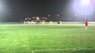 preview picture of video 'Buckley Town 2 - 1 Cefn Druids - 1.AVI'