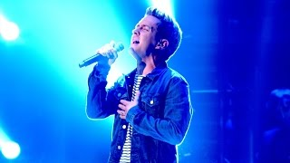 Stevie McCrorie performs 'All Through The Night' - The Live Quarter Finals: The Voice UK 2015 - BBC