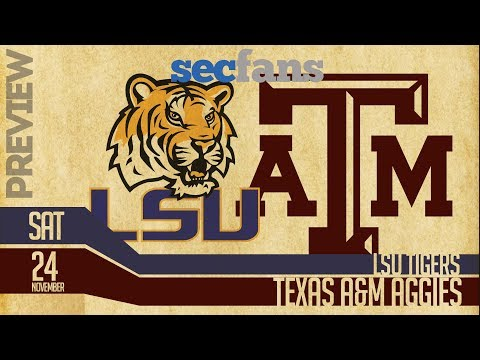 LSU Vs Texas A&M - Computer Model- Preview & Predictions 2018 College Football Mp3
