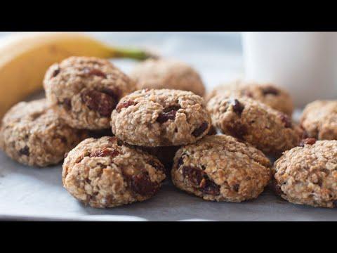 Cookies sans sucre ni farine