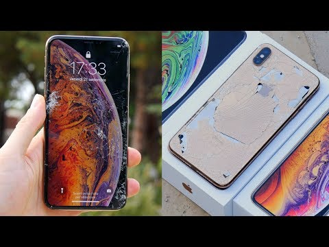 DROP TEST IPHONE XS MAX - 1700€! Mp3