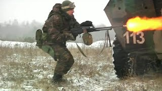 Ukrainian Army Joint Helicopter Air Assault & Combined Arms Training In Ukraine
