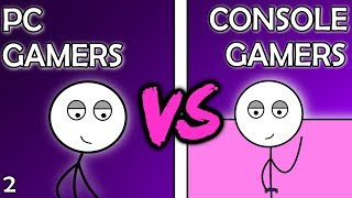 PC Gamers VS Console Gamers (Here We Go Again) - dooclip.me